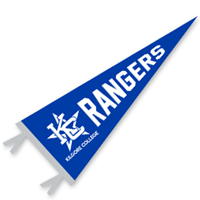 Kilgore College Pennant Kc Star 9 X 24