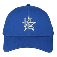 Royal Blue Kc Star Logo Cap