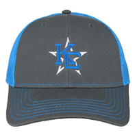 Charcoal & Blue Kc Star Logo Cap