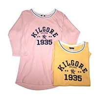 Kilgore Ladies 3/4 Sleeve Tee