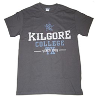 Kilgore College Distressed Tee