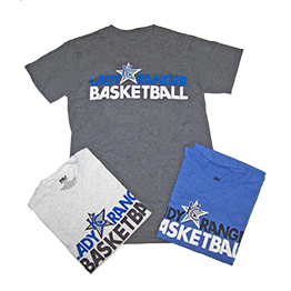 Lady Ranger Basketball Tee