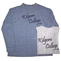 Kilgore College Loop Fleece Sweatshirt