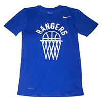 Nike Rangers Basketball Dri-Fit Tee