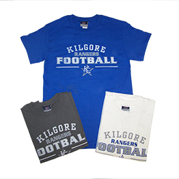 Kilgore Rangers Football Tee Shirt