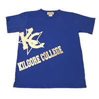 Kilgore College Kids Kc Star Tee
